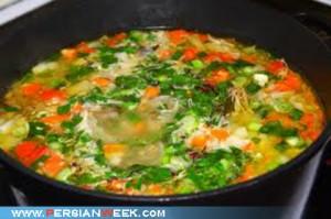 سوپ سبزیجات زمستانی