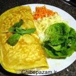 Omelette ba panir