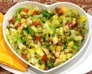 salad lobia
