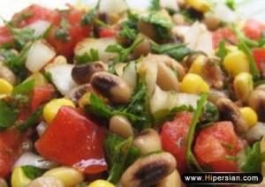 salad lobia cheshm