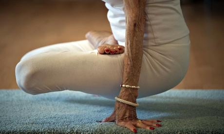 Yoga instructor Tao Porchon-Lynch, 93